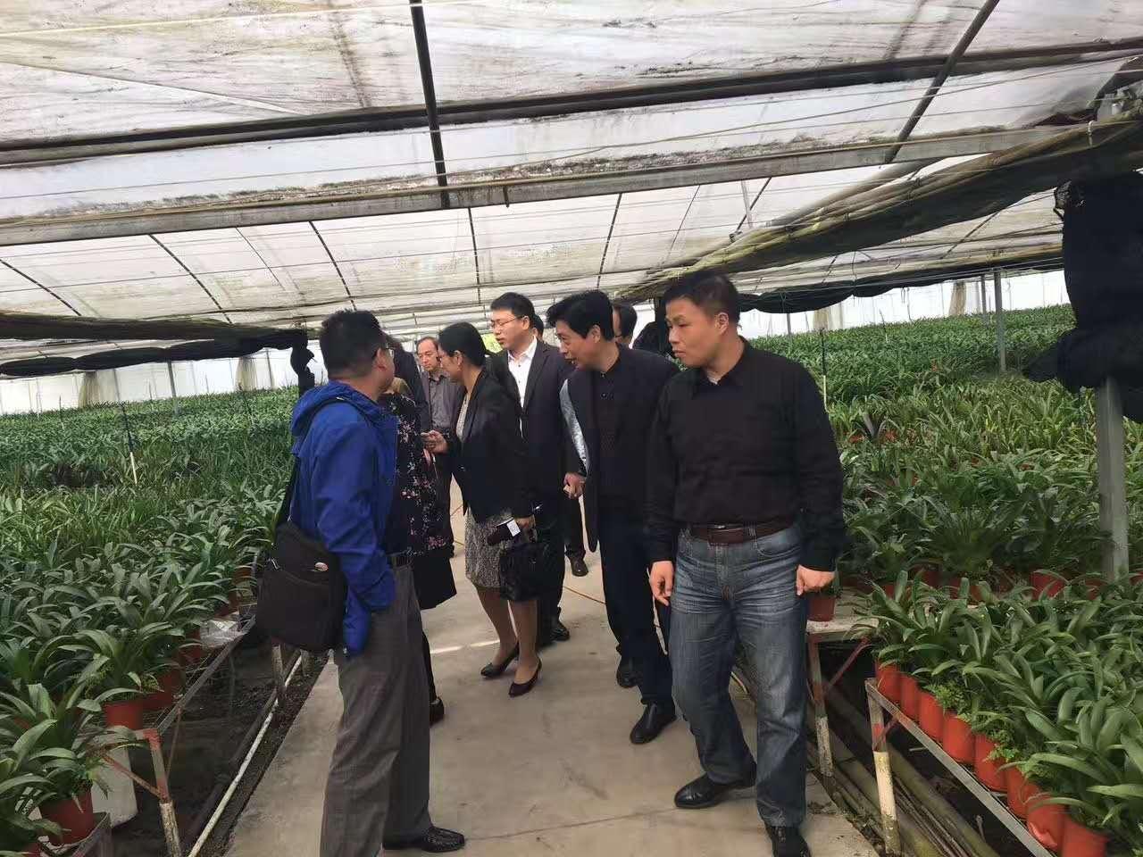 热烈欢迎无锡成教系统各位校长一行 莅临永尚科技-净水、空气净化器、水耕家庭植物工厂参观指导