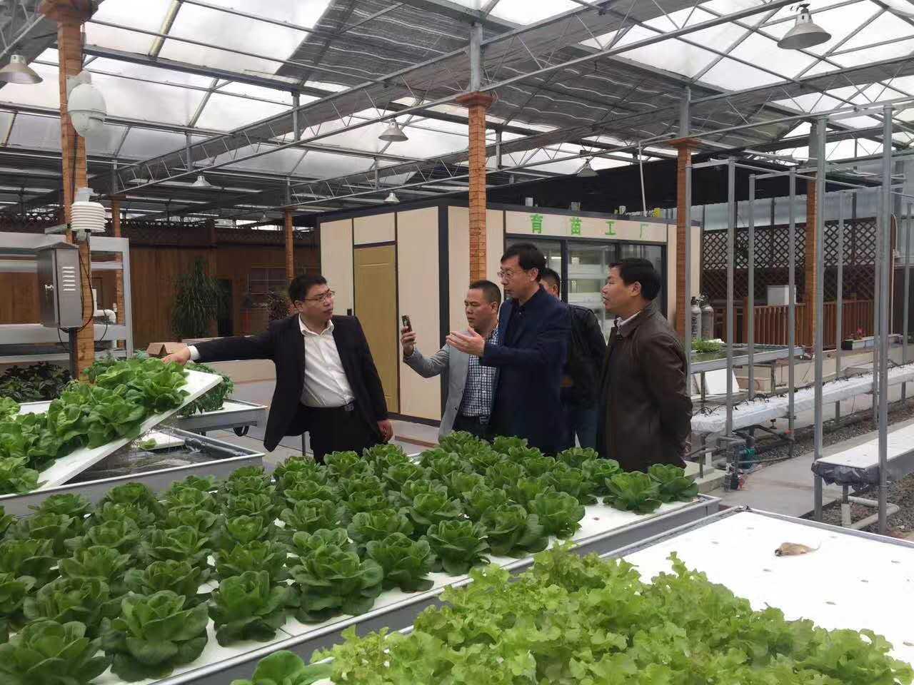 热烈欢迎滨海政协 、统战部、工商联相关领导前来参观永尚科技产业链!