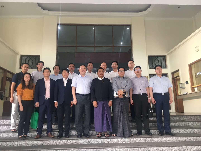 永尚科技董事长作为中国青年企业家成员赴缅甸、泰国、柬埔寨进行了工作访问