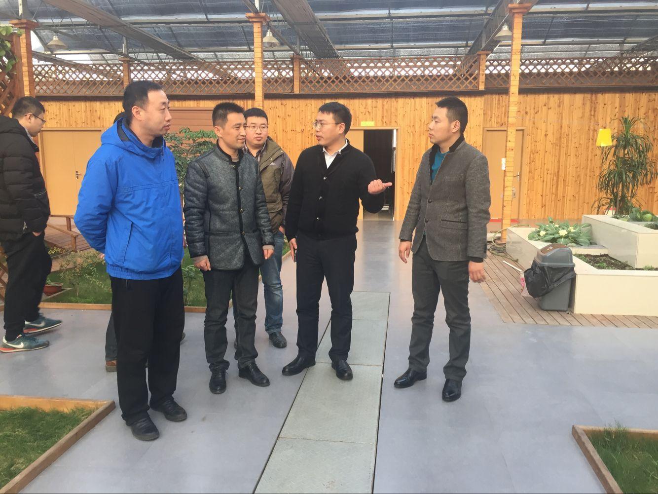 热烈欢迎南通大学领导一行莅临永尚科技-净水、空气净化器、水耕家庭植物工厂参观指导