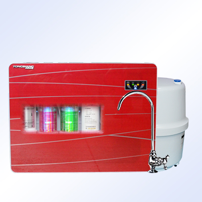 壁挂式净水器YRO503-1(宝石红)